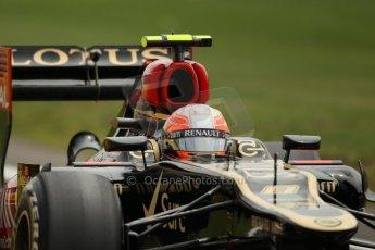 World © Octane Photographic Ltd. F1 British GP - Silverstone, Saturday 29th June 2013 - Qualifying. Lotus F1 Team E21 - Romain Grosjean. Digital Ref : 0730lw1d1551