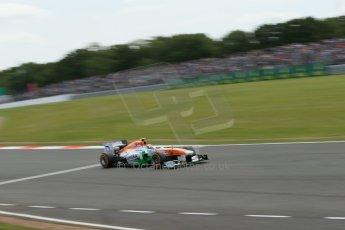 World © Octane Photographic Ltd. F1 British GP - Silverstone, Saturday 29th June 2013 - Qualifying. Sahara Force India VJM06 - Adrian Sutil. Digital Ref : 0730lw1d1828