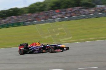 World © Octane Photographic Ltd. F1 British GP - Silverstone, Saturday 29th June 2013 - Qualifying. Infiniti Red Bull Racing RB9 - Sebastian Vettel. Digital Ref : 0730lw1d1884