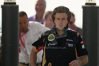 Davide Valsecchi - Lotus F1 Team reserve driver. Digital Ref : 0733lw1d1648