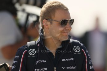 World © Octane Photographic Ltd. F1 British GP - Silverstone, Sunday 30th June 2013 – F1 Paddock. Valterri Bottas - Williams. Digital Ref : 0733lw1d1681