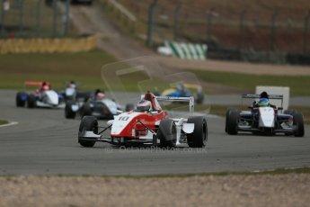 World © Octane Photographic Ltd. 2013 Protyre Formula Renault Championship – Donington Park, Sunday 14th April 2013 - Race 2. Matt Rao - Hillspeed. Digital ref : 0635lw1d3516