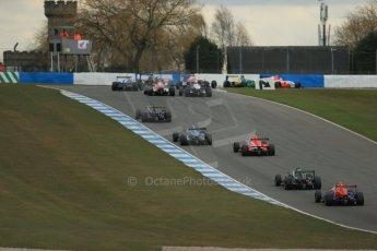 World © Octane Photographic Ltd. 2013 Protyre Formula Renault Championship – Donington Park, Sunday 14th April 2013 - Race 2. Digital ref : 0635lw1d3595