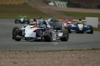 World © Octane Photographic Ltd. 2013 Protyre Formula Renault Championship – Donington Park, Sunday 14th April 2013 - Race 2. Matias Galetto - MTECH Lite. Digital ref : 0635lw1d3640
