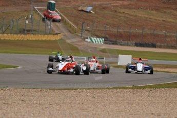 World © Octane Photographic Ltd. 2013 Protyre Formula Renault Championship – Donington Park, Sunday 14th April 2013 - Race 2. Matt Rao - Hillspeed. Digital ref : 0635lw7d5445