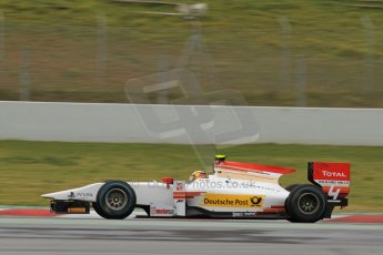 World © Octane Photographic Ltd. GP2 Winter testing, Barcelona, Circuit de Catalunya, 5th March 2013. ART Grand Prix – Daniel Abt. Digital Ref: 0585cb7d1090
