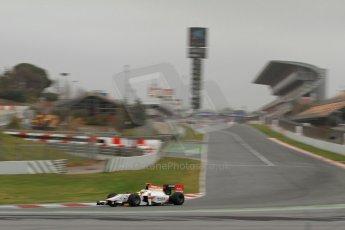 World © Octane Photographic Ltd. GP2 Winter testing, Barcelona, Circuit de Catalunya, 5th March 2013. ART Grand Prix – James Calado. Digital Ref: 0585cb7d1132