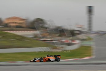World © Octane Photographic Ltd. GP2 Winter testing, Barcelona, Circuit de Catalunya, 5th March 2013. MP Motorsport – Adrian Quaife-Hobbs. Digital Ref: 0585cb7d1216