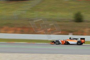 World © Octane Photographic Ltd. GP2 Winter testing, Barcelona, Circuit de Catalunya, 5th March 2013. MP Motorsport – Daniel de Jong. Digital Ref: 0585cb7d1302