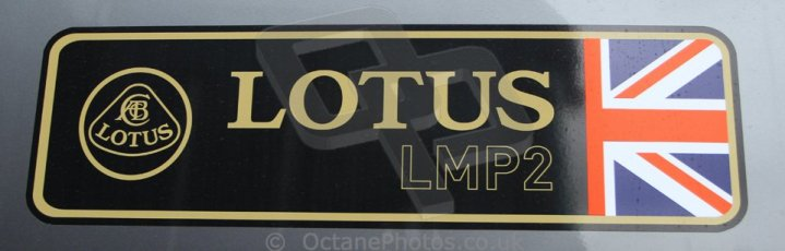 World © Octane Photographic Ltd. GP2 Winter testing, Barcelona, Circuit de Catalunya, 5th March 2013. Lotus LMP2 logo. Digital Ref: 0585cb7d1481