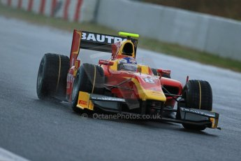 World © Octane Photographic Ltd. GP2 Winter testing, Barcelona, Circuit de Catalunya, 5th March 2013. Racing Engineering – Fabio Leimer. Digital Ref: 0585lw1d1358