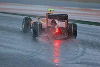 World © Octane Photographic Ltd. GP2 Winter testing, Barcelona, Circuit de Catalunya, 5th March 2013. Racing Engineering – Fabio Leimer. Digital Ref: 0585lw1d1369