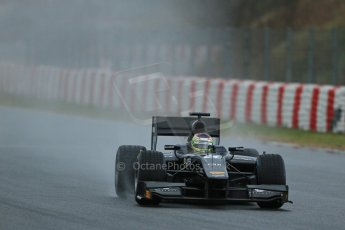 World © Octane Photographic Ltd. GP2 Winter testing, Barcelona, Circuit de Catalunya, 5th March 2013. Venezuela GP Lazarus – Rene Binder. Digital Ref: 0585lw1d1392
