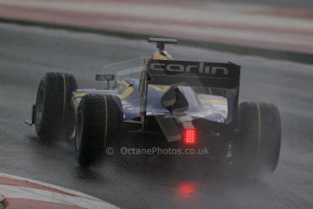 World © Octane Photographic Ltd. GP2 Winter testing, Barcelona, Circuit de Catalunya, 5th March 2013. Carlin – Felipe Nasr. Digital Ref: 0585lw1d1505