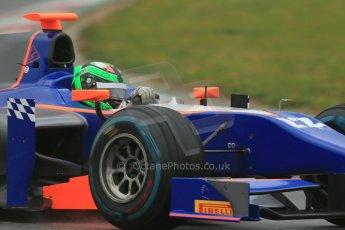 World © Octane Photographic Ltd. GP2 Winter testing, Barcelona, Circuit de Catalunya, 5th March 2013. Hilmer Motorsport – Conor Daly. Digital Ref: 0585lw1d1763