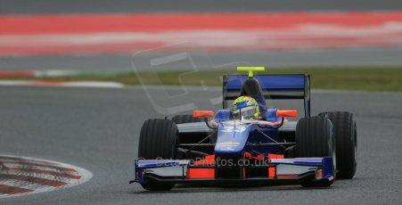 World © Octane Photographic Ltd. GP2 Winter testing, Barcelona, Circuit de Catalunya, 5th March 2013. Hilmer Motorsport – Pal Varhaug. Digital Ref: 0585lw1d2048