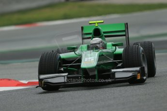 World © Octane Photographic Ltd. GP2 Winter testing, Barcelona, Circuit de Catalunya, 5th March 2013. Caterham Racing – Ma Qing Hua. Digital Ref: 0585lw1d2090