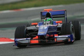 World © Octane Photographic Ltd. GP2 Winter testing, Barcelona, Circuit de Catalunya, 5th March 2013. Hilmer Motorsport – Conor Daly. Digital Ref: 0585lw1d2103