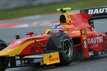 World © Octane Photographic Ltd. GP2 Winter testing, Barcelona, Circuit de Catalunya, 6th March 2013. Racing Engineering – Fabio Leimer. Digital Ref: 0586lw1d2254