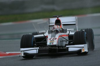 World © Octane Photographic Ltd. GP2 Winter testing, Barcelona, Circuit de Catalunya, 6th March 2013. Rapax – Stefano Coletti. Digital Ref: 0586lw1d2286