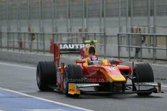 World © Octane Photographic Ltd. GP2 Winter testing, Barcelona, Circuit de Catalunya, 6th March 2013. Racing Engineering – Fabio Leimer. Digital Ref: 0586lw1d2842