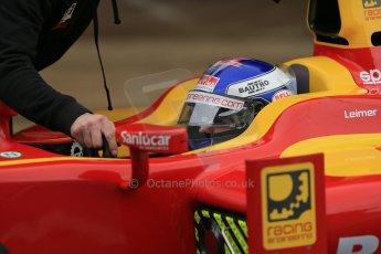 World © Octane Photographic Ltd. GP2 Winter testing, Barcelona, Circuit de Catalunya, 6th March 2013. Racing Engineering – Fabio Leimer. Digital Ref: 0586lw1d3021