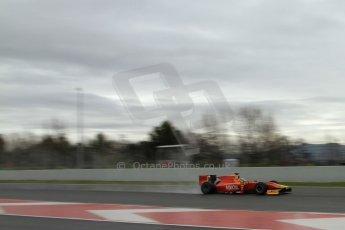 World © Octane Photographic Ltd. GP2 Winter testing, Barcelona, Circuit de Catalunya, 6th March 2013. Racing Engineering – Julien Leal. Digital Ref: 0586lw7d1494