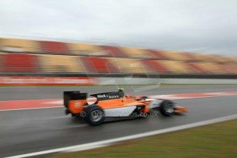 World © Octane Photographic Ltd. GP2 Winter testing, Barcelona, Circuit de Catalunya, 6th March 2013. MP Motorsport – Daniel de Jong. Digital Ref: 0586lw7d1550