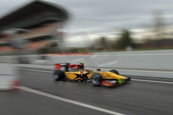 World © Octane Photographic Ltd. GP2 Winter testing, Barcelona, Circuit de Catalunya, 6th March 2013. DAMS – Stephane Richelmi. Digital Ref: l