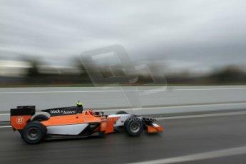 World © Octane Photographic Ltd. GP2 Winter testing, Barcelona, Circuit de Catalunya, 6th March 2013. MP Motorsport – Daniel de Jong. Digital Ref: 0586lw7d1599