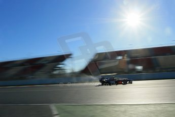 World © Octane Photographic Ltd. GP2 Winter testing, Barcelona, Circuit de Catalunya, 7th March 2013. Hilmer Motorsport – Pal Varhaug. Digital Ref: 0587lw1d3253