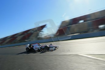 World © Octane Photographic Ltd. GP2 Winter testing, Barcelona, Circuit de Catalunya, 7th March 2013. Rapax – Stefano Coletti. Digital Ref: 0587lw1d3304