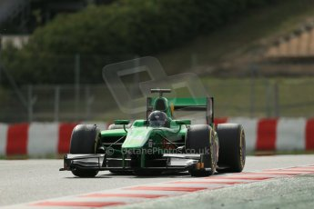 World © Octane Photographic Ltd. GP2 Winter testing, Barcelona, Circuit de Catalunya, 7th March 2013. Caterham Racing – Sergio Canamasas. Digital Ref: 0587lw1d3761