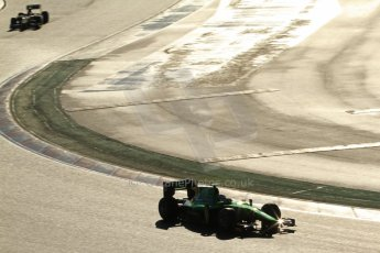 World © Octane Photographic Ltd. GP2 Winter testing, Barcelona, Circuit de Catalunya, 7th March 2013. Caterham Racing – Ma Qing Hua. Digital Ref: 0587lw7d2057
