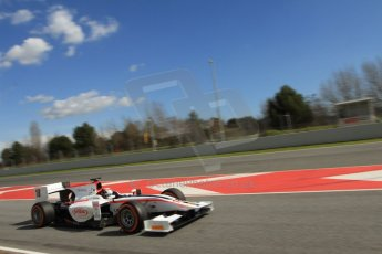 World © Octane Photographic Ltd. GP2 Winter testing, Barcelona, Circuit de Catalunya, 7th March 2013. Rapax – Stefano Coletti. Digital Ref: 0587lw7d2124