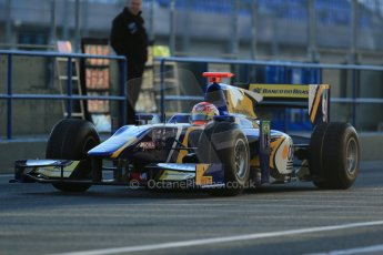 World © Octane Photographic Ltd. GP2 Winter testing, Jerez, 26th February 2013. Carlin – Felipe Nasr. Digital Ref: 0580cb1d5495