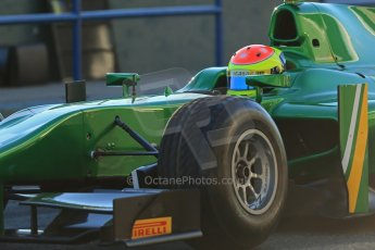 World © Octane Photographic Ltd. GP2 Winter testing, Jerez, 26th February 2013. Caterham Racing – Sergio Canamasas. Digital Ref: 0580cb1d5626