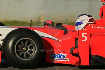 World © Octane Photographic Ltd. GP2 Winter testing, Jerez, 26th February 2013. Arden – Johnny Cecotto. Digital Ref: 0580cb1d5671