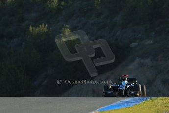 World © Octane Photographic Ltd. GP2 Winter testing, Jerez, 26th February 2013. Digital Ref: 0580cb1d5842