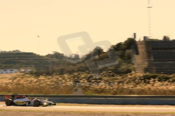 World © Octane Photographic Ltd. GP2 Winter testing, Jerez, 26th February 2013. Racing Engineering – Julien Leal. Digital Ref: 0580cb1d6112