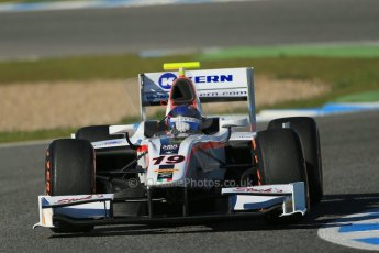 World © Octane Photographic Ltd. GP2 Winter testing, Jerez, 26th February 2013. Rapax – Simon Trummer. Digital Ref: 0580cb1d6421