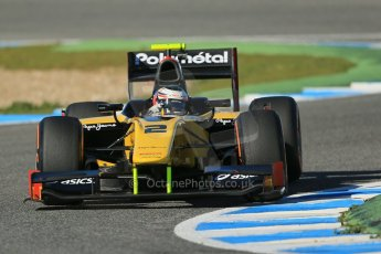 World © Octane Photographic Ltd. GP2 Winter testing, Jerez, 26th February 2013. DAMS – Stephane Richelmi. Digital Ref: 0580cb1d6435