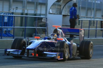 World © Octane Photographic Ltd. GP2 Winter testing, Jerez, 26th February 2013. Hilmer Motorsport – Tom Dillman. Digital Ref: 0580lw1d5576