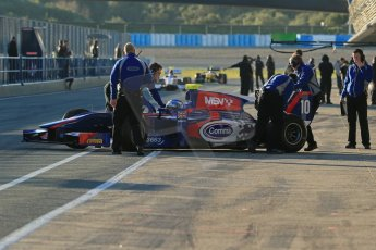 World © Octane Photographic Ltd. GP2 Winter testing, Jerez, 26th February 2013. Carlin – Jolyon Palmer. Digital Ref: 0580lw1d5591