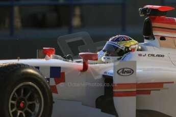 World © Octane Photographic Ltd. GP2 Winter testing, Jerez, 26th February 2013. ART Grand Prix – James Calado. Digital Ref: 0580lw1d5621