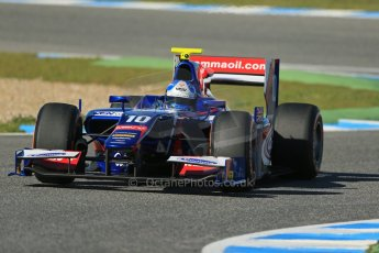 World © Octane Photographic Ltd. GP2 Winter testing, Jerez, 26th February 2013. Carlin – Jolyon Palmer. Digital Ref: 0580lw1d6458