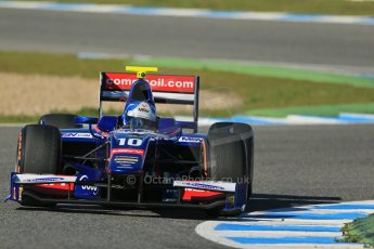 World © Octane Photographic Ltd. GP2 Winter testing, Jerez, 26th February 2013. Carlin – Jolyon Palmer. Digital Ref: 0580lw1d6497