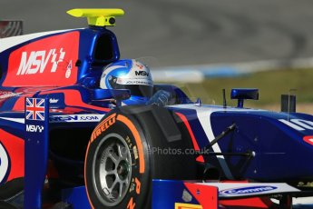 World © Octane Photographic Ltd. GP2 Winter testing, Jerez, 26th February 2013. Carlin – Jolyon Palmer. Digital Ref: 0580lw1d6500