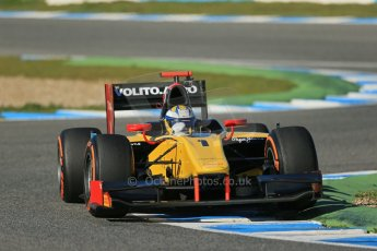 World © Octane Photographic Ltd. GP2 Winter testing, Jerez, 26th February 2013. DAMS – Marcus Ericsson. Digital Ref: 0580lw1d6513