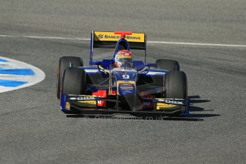 World © Octane Photographic Ltd. GP2 Winter testing, Jerez, 26th February 2013. Carlin – Felipe Nasr. Digital Ref: 0580lw1d6663